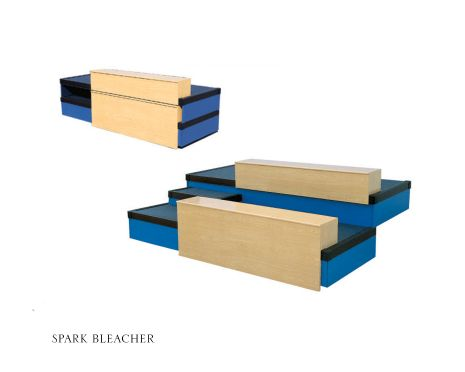 Spark Bleacher Retractable Seating